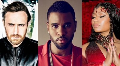 nicki minaj david guetta jason derulo