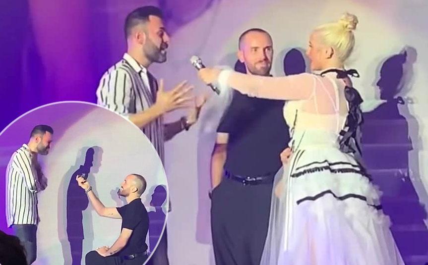 proposta matirmonio gay Christina Aguilera