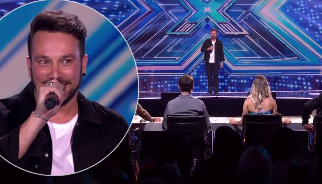Antonino Spadaccino è stato escluso da X Factor UK (VIDEO)