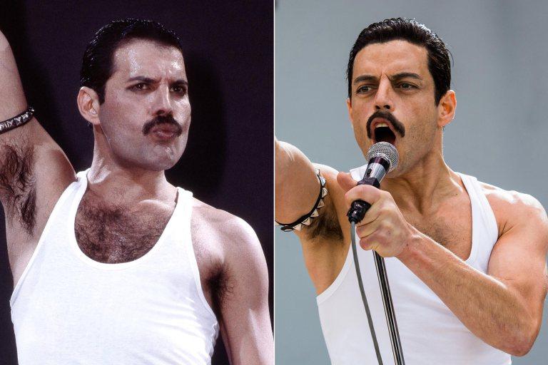 """Bohemian Rhapsody"", Rami Malek è identico a Freddie Mercury: le esibizioni a confronto"