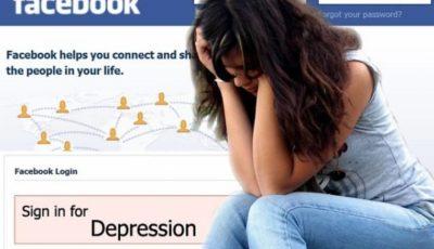 depressione social facebook