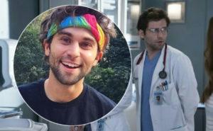 Grey's Anatomy, Jake Borelli fa coming out