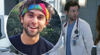 Grey's Anatomy, Jake Borelli fa coming out