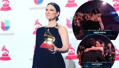 Laura Pausini trionfa ai Latin Grammy Awards 2018: il video della premiazione
