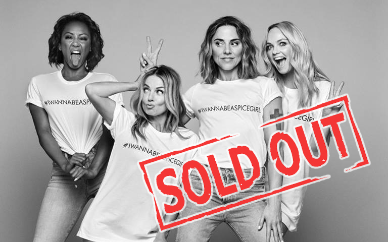sold out, spice girls tour 2019
