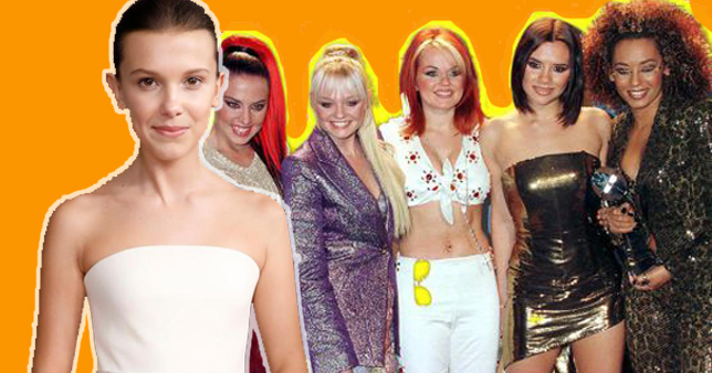 spice girls, Millie Bobby Brown