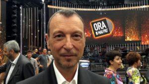 """amadeus Torna in tv """"Ora o Mai Più"""""""