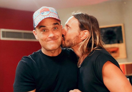 Electro romantico, bob sinclar, robbie williams