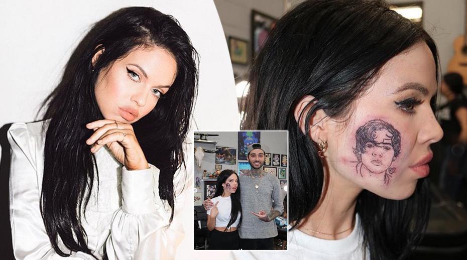 Kelsy Karter, harry styles, tatuaggio