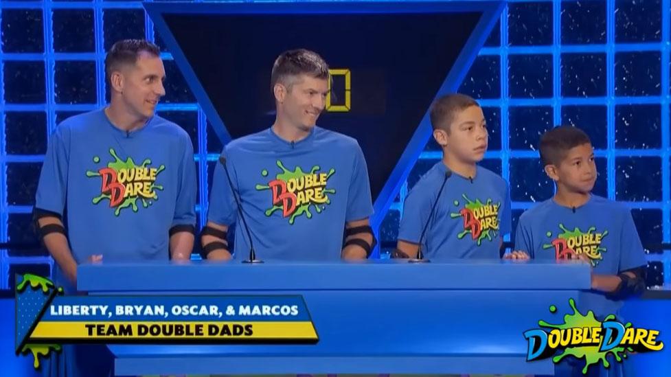 double dare double dad famiglia arcobaleno