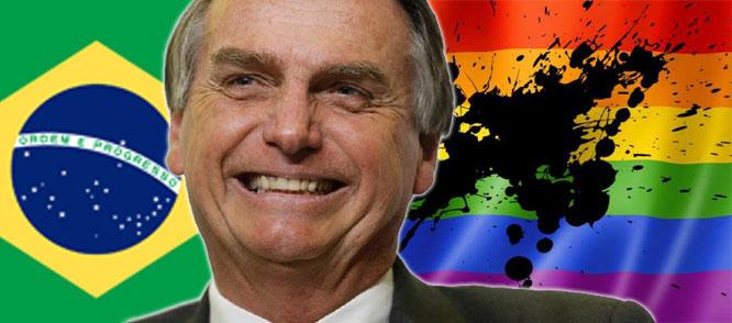 Brasile, il nuovo presidente cancella i diritti LGBT dal Ministero per i Diritti Umani