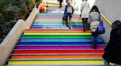 catania, metro, arcobaleno