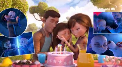 cartone animato sul cancro infantile