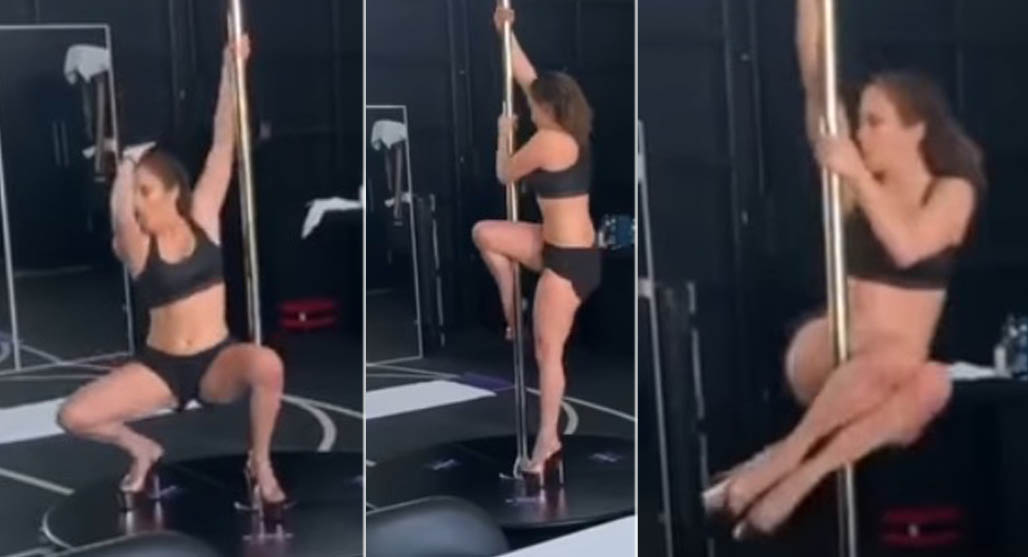 jennifer lopez, pole dance