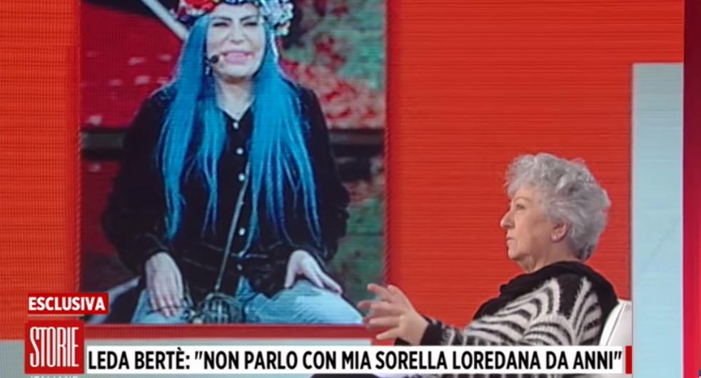 leda berte, sorella loredana