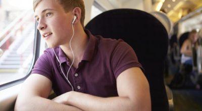 udito, cuffie, ascoltare musica