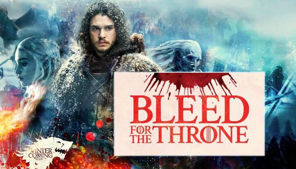 donazione sangue, trono di spade