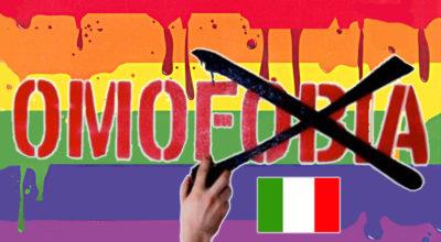 omofobia legge italia