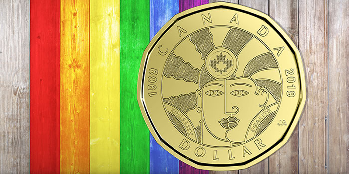 canada, moneta, lgbt, Equality-Égalité