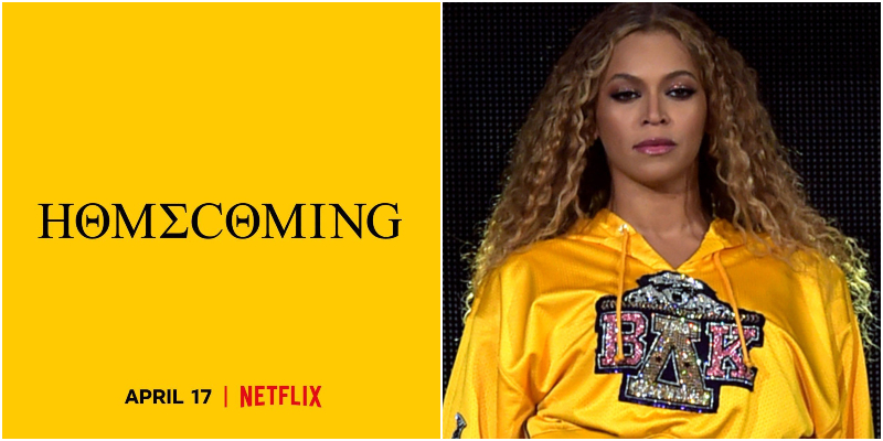 Beyoncé: Homecoming, su Netflix