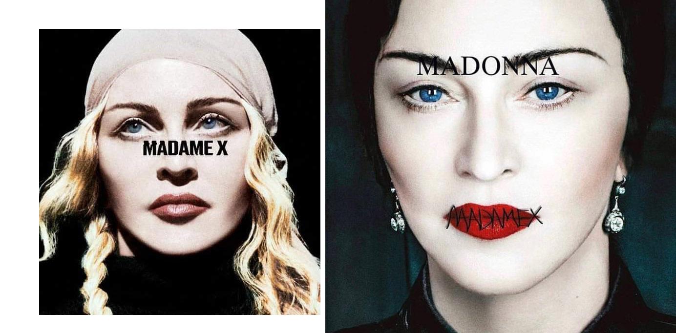 madonna madame x cover