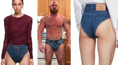 Arrivano le mutande di jeans: la nuova moda dell'estate. Il prezzo?