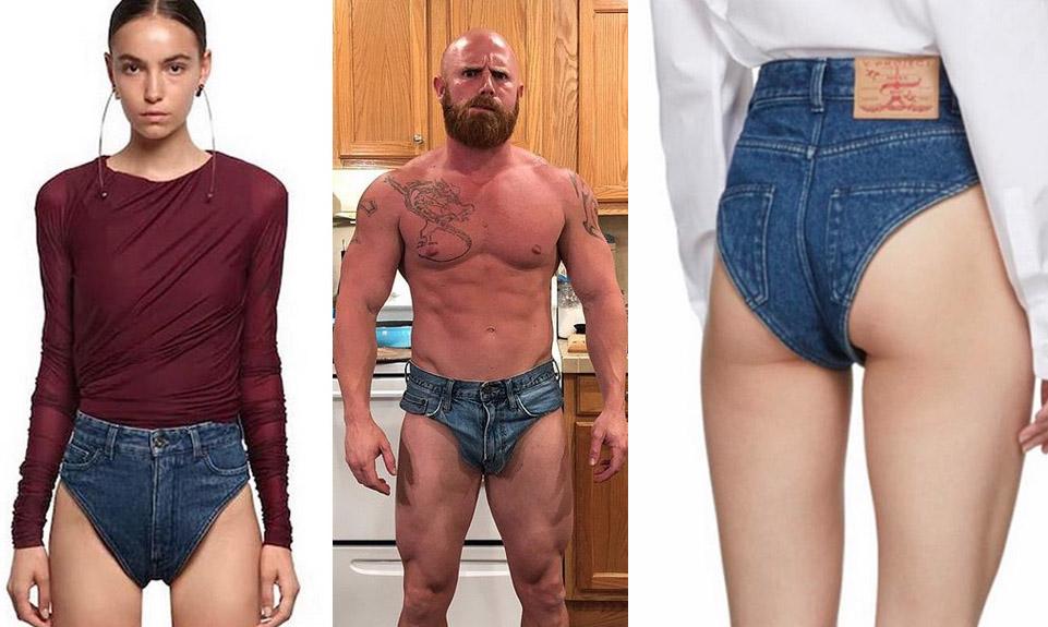 """Arrivano le mutande di jeans: la nuova moda dell'estate. Il prezzo? """"Solo"""" 295 €"""