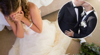 sposa becca marito gay