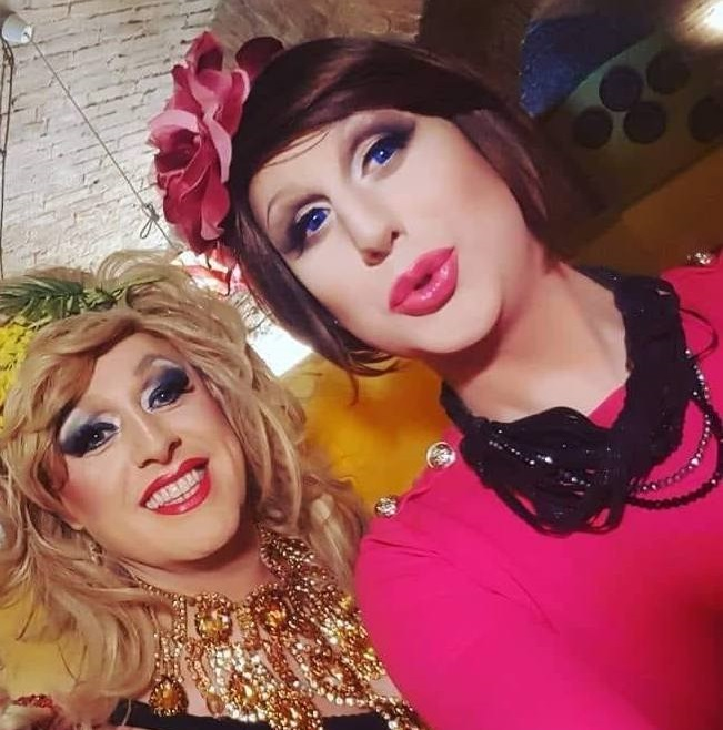 Vera Aloe e Carla Stracci, drag queen