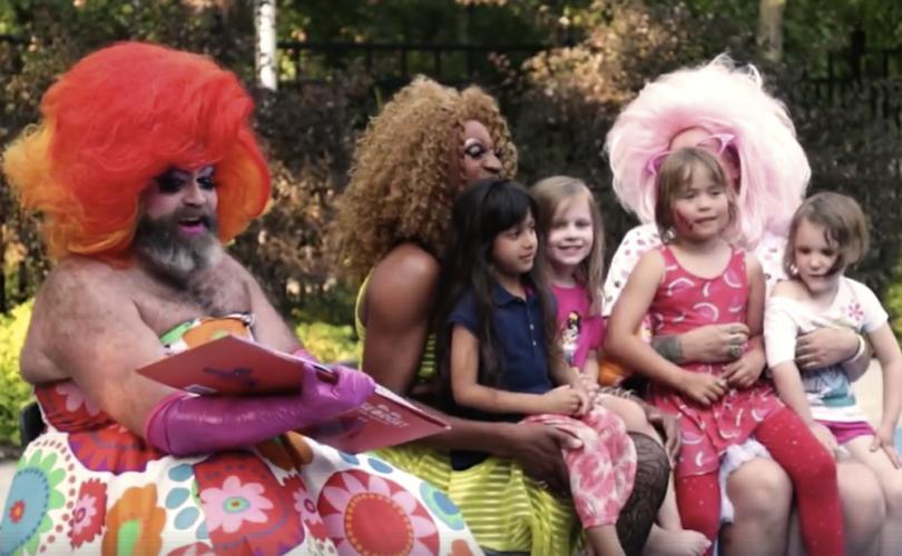 drag queen, bambini