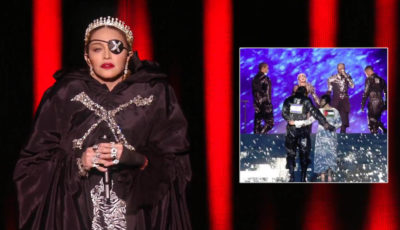 madonna, bandiere, tel aviv, eurovision song