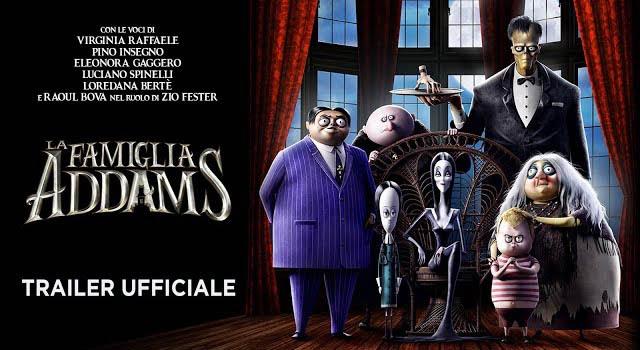 la famiglia addams, italiano, trailer