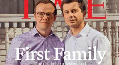 time cover, Pete Buttigieg è il primo sindaco, apertamente gay, alla Casa Bianca