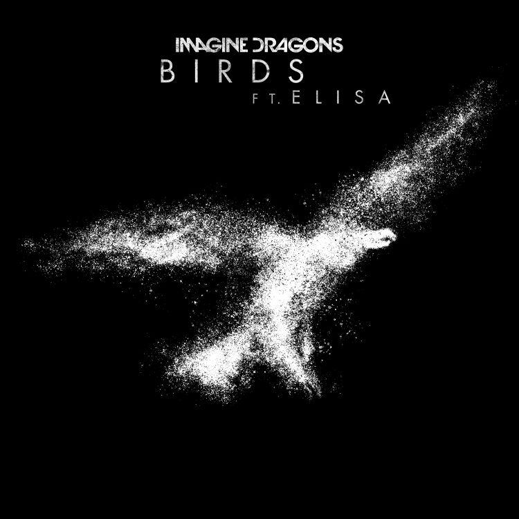 Imagine dragons feat Elisa_cover singolo_BIRDS