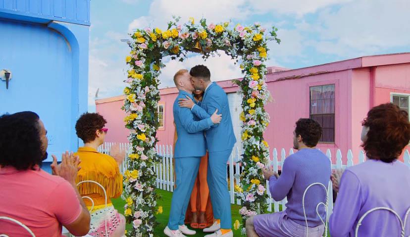 bacio gay, matrimonio, unione civile