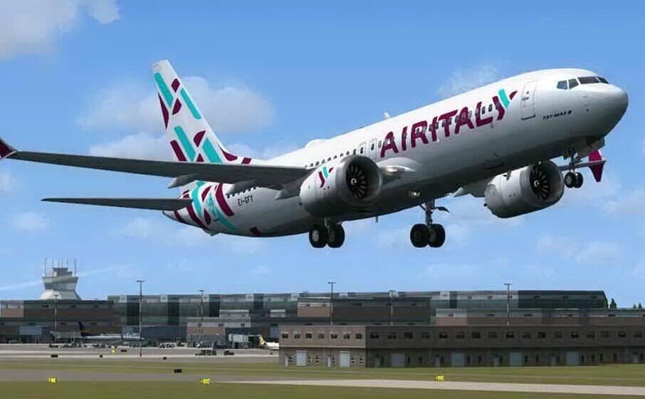 air italy, volo