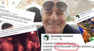 Giuseppe Cannata omofobo