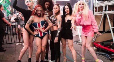 melanie c, spice girls drag queen