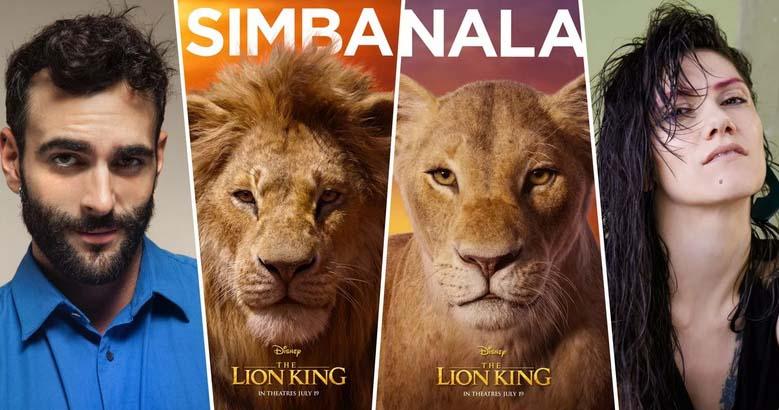 il re leone, mengoni, elisa
