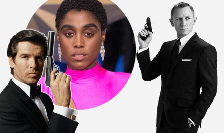 james bond 007 woman Lashana Lynch