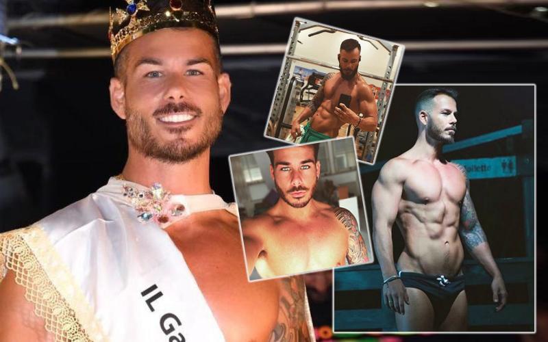 Mattia Martone il gay piu bello d'italia 2019