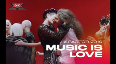 music is love x factor italia 2019