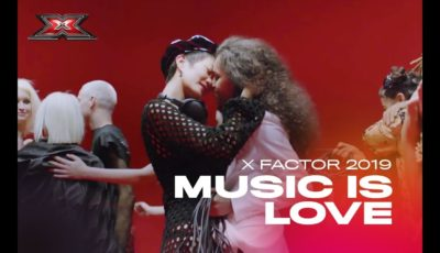 music is love x factor italia 2019