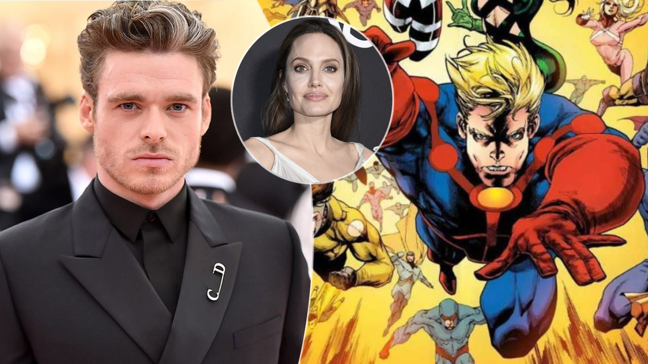 richard-madden The Eternals angelina jolie marvel