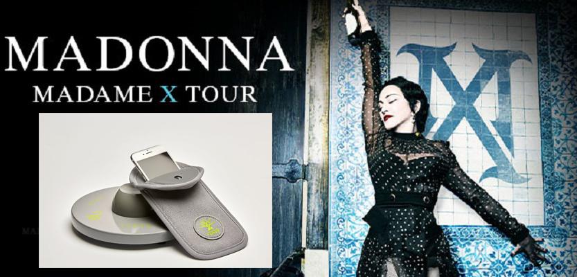 madame x madonna tour 2019 regole