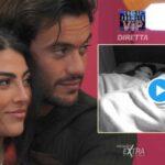 GF Vip, Giulia e Pierpaolo fanno sesso durante la notte e la regia stacca l'inquadratura (VIDEO)